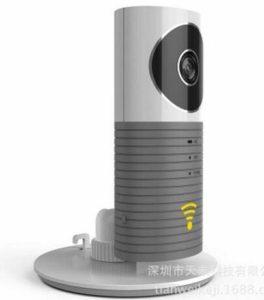 Caméra IP intelligente sans fil Vision nocturne intelligente intelligente pour chien Cleverdog WiFi Moniteur de sécurité