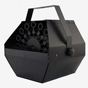 Caroline Philipson Mini Fabricant de Bulles Automatique Portable en métal Tasse électrique Fabricant de Bulles pour DJ/Bar/fête/Spectacle/scène/Mariage