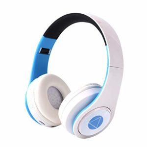 Casque Bluetooth, casque Bluetooth sans fil, microphone intégré et périphériques d'animation en mode filaire