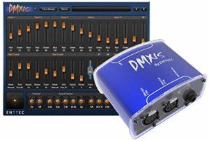 enttec dmxis–Logiciel & Interface DMX