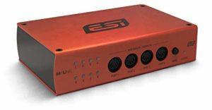 ESI Audio MIDI Interface M4U EX