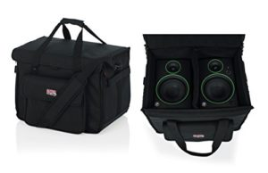 GATOR Cases G-STUDIOMON1 nylon double monitoring 5″
