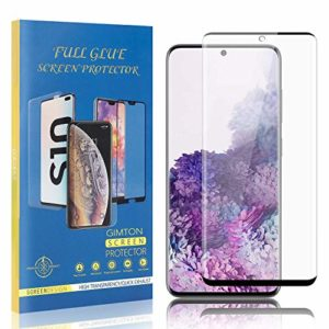 GIMTON Dureté 9H Verre Trempé pour Galaxy S20, sans Bulle, sans Poussière, Ultra Résistant Protection en Verre Trempé Écran pour Samsung Galaxy S20, 3 Pièces