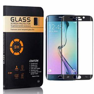 GIMTON Verre Trempé Galaxy S6 Edge, sans Poussière, Ultra Transparent, Dureté 9H Protection en Verre Trempé Écran pour Samsung Galaxy S6 Edge, 4 Pièces