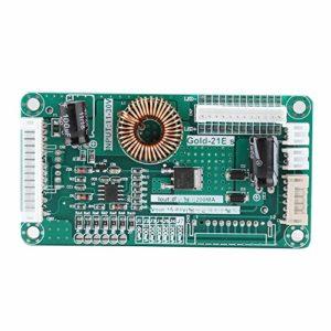 HelloCreate Panneau de pilote LED à monter soi-même, 10-48 pouces LED LCD TV avec sangle de lumière rétroéclairée, kit de bricolage 11 à 30 V