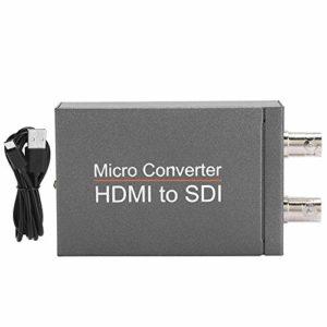 iFCOW Convertisseur HD vers SDI HD en 2 voies Convertisseur SDI HD vers 3G-SDI/HD-SDI Niveau de diffusion Haute Définition