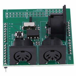 Instrument de mesure électronique Interface numérique carte adaptateur MIDI à broches de 2,54 mm, carte MIDI, pour microcontrôleur