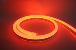 LED Neon Flex homogen Éclairage LED bande LED 230V Orange 49,4M