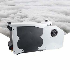 Machine à FuméE Lourde – 3000 Watts De Puissance, Mode DMX Machines à CO2 Pour ScèNe,RéServoir De 2.5 L, DJ Sol Machine à FuméE,Pour Mariages, Spectacles Sur ScèNe,White
