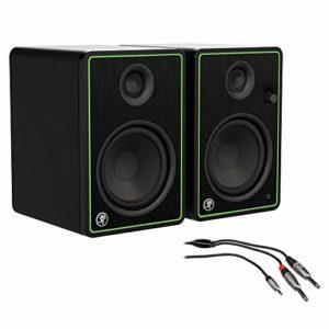 Mackie CR4-X Series 4″ Moniteurs de studio de référence créatifs (paire) avec câble stéréo 3 pi REAN