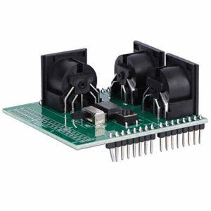 Pangdingk Module Adaptateur MIDI, Carte MIDI d'interface numérique, Broche 2,54 mm pour la réparation du microcontrôleur