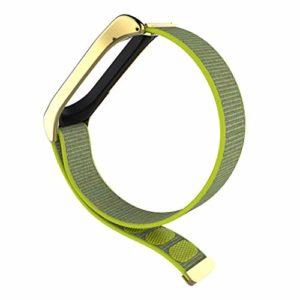 Remplacement pour Xiaomi Mi Band 3 en Nylon réglable Montre Bracelet Replaceable Bracelet Sport Band Bracelet fgyhty