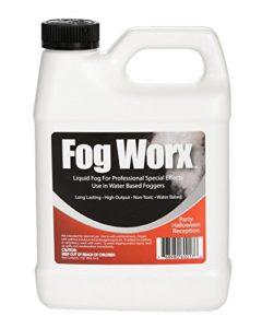 Sanco Industries 1 de inodore Brouillard Liquide Organique (32 oz) – densité Moyenne, Haute Sortie, Machine Long Lasting Fog Fluide pour 400 Watt à 1500 Watt Machines Quart