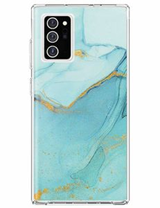 yiyiter Note 20 Ultra Étui pour Samsung Galaxy Note 20 Ultra Coque Soft Silicone Housse TPU Bumper Protecteur Antichoc Cover Marble Design pour Samsung Note 20 Ultra Back Case Protection