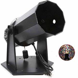 ZOUJUN DJ Confetti Machine de Lancement, for soirée de Mariage Concerts Célébration des événements Speciial scène Effet Confetti Tir Shooter scène fumée Machine atmosphère Arc-en-Machine