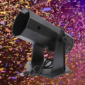 ZOUJUN Professionnel Confetti Launcher Pack, for Concerts, fêtes et événements spéciaux des événements d'effet d'étape Confetti Tir Shooter