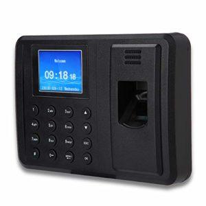 2,4 Pouces TFT d'empreintes digitales d'assistance enregistreur Machine réseau d'assistance d'empreintes digitales Machine pour l'enregistrement des employés (1#)
