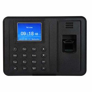 2,4 pouces TFT d'empreintes digitales d'assistance enregistreur machine réseau d'assistance d'empreintes digitales machine pour l'enregistrement des employés (UE)