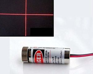 650nm 5mW Red Laser Cross Module Focus Adjustable Laser Head 5V lasser