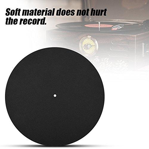 Accessoires pour disques vinyle Tapis antidérapant Tapis de sol Support de disque vinyle Tapis souple Ultra mince pour disque vinyle