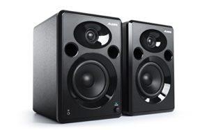 Alesis Elevate 5 MKII – Paire d'Enceintes de Monitoring Actives 80 W avec Bass Boost pour Création Multimédia Professionnelle sur PC et MAC