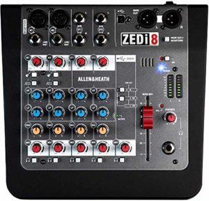 ALLEN & HEATH ZED 6FX Mixer avec Effets 6 Canaux