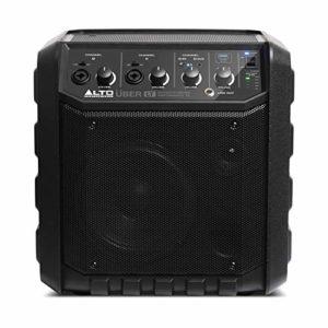 ALTO Professional Uber LT – Système de Sonorisation Bluetooth Léger et Portable, 50 W, avec Batterie Rechargeable Intégrée, Entrées XLR et Line, pour Musiciens, Artistes de Rue, Classes de Musique