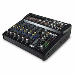 ALTO Professional ZMX122 FX – Table de Mixage Compacte 8 Voies avec Entrée XLR, Effets, EQ et Aux In/Out