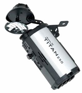 American DJ Effet lumière Scanner Titan avec Ampoule Incluse de 250W