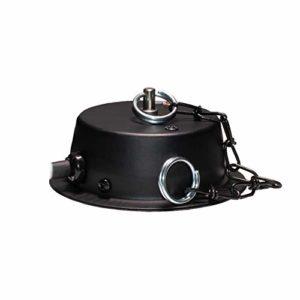American DJ mirrorballmotor 1,5 U/min (20cm/3kg) Moteur pour boule à facettes Noir