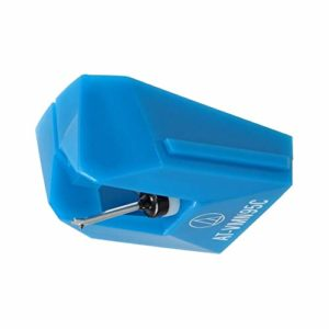 Audio Technica AT-VMN95C Conical Stylus for Use with Cartridge AT-VM95C (Blue)