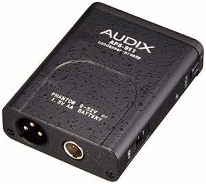 Audix APS-911 Adaptateur pour alimentation fantôme fonctionnant avec piles