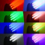 BETOPPER Lyre led dmx 512 Professionnel disco DJ lumiere 7 * 8W RGBW Moving head LED Eclairage de scène Lumiere DJ Jeux de lumiere lyre