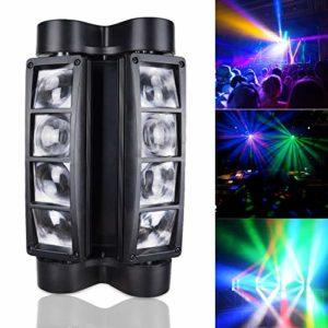 BETOPPER(LM30) Lyre led dmx 512 Spider Beam Moving head 8 * 3W RGBW LED Eclairage de scène Lumiere DJ Jeux de lumiere lyre