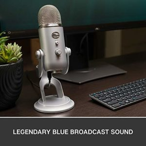 Blue Microphones 1950 Yeti Argent