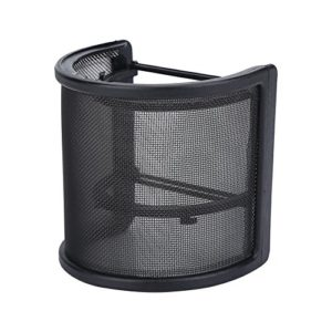 Bnineteenteam Filtre Double Protection Pare-Brise pour Microphone en Forme de U pour Microphone de diamètre 45 mm à 65 mm.