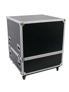 Caisse de transport (Flight Case) MOVER pour boule à facettes de Ø 75 cm, noir – Malle de transport / Boule à facettes – showking