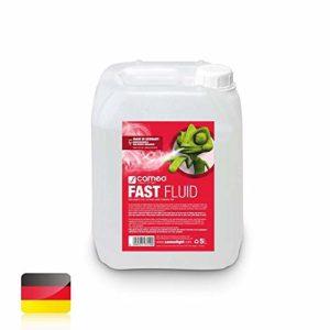Cameo Fluide anti-brouillard très haute densité et très longue durée de vie. Fluide rapide. 5 Liter