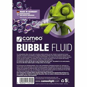 Cameo Light clfb ubble5l Bubble liquide à fumée 5 l