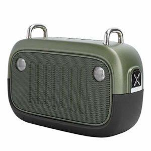 Ccylez Haut-parleurs Bluetooth Portables, Mini Caisson de Basses à Son Clair, étanche IPX5, Haut-Parleur Bluetooth sans Fil Multifonction pour l'escalade, la randonnée, Les Voyages