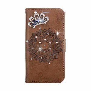 Coque iPhone 6 / iPhone 6s, SONWO Premium PU Cuir Portefeuille de Protection Étui avec Fentes de la Carte pour Apple iPhone 6 / iPhone 6s, Brun