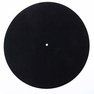 Deendeng-uk Tapis de feutre platine LP antidérapant Audiophile Épaisseur de 3mm pour LP disque vinyle