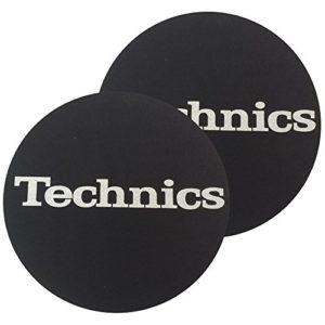 Disque de feutrine de Factory Technics Police Argent Slipmat, Lot de 2