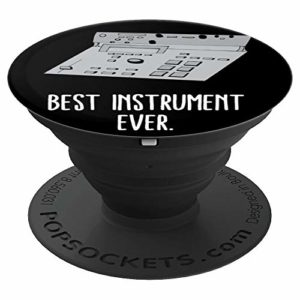 Electronic Drum Machine MIDI Beat Pad Hip Hop Producer PopSockets Support et Grip pour Smartphones et Tablettes