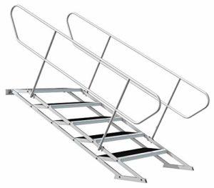 Escalier de scène réglable 60 – 100 cm