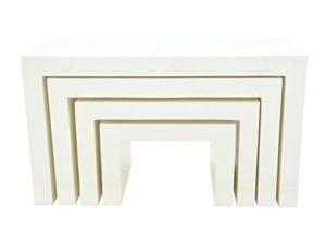 Europalms 83011898 Planche décorative, Blanc, Taille Unique