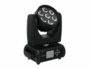 Futurelight 060340 EYE-7 Infinity Moving-Head LED faisceau Noir