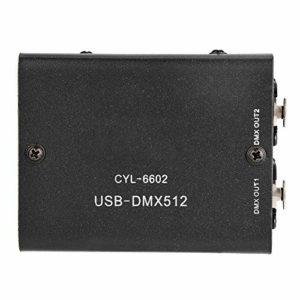 Garosa 512 canaux USB vers DMX DMX512 LED Lumière Contrôleur d'éclairage de la scène DMX Module de décodeur