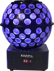 Ibiza 15-1387 STARBALL-GB Jeu de lumières boules à facettes