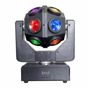 JU FU Lumières de scène à LED @